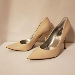 Guess Heels 6.5 Tan 4 inch
